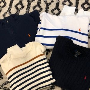 Boys bundle sweaters